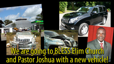 An Opportunity to Bless Pastor Joshua and Elim Church