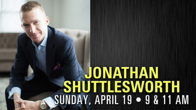 Special Guest Jonathan Shuttlesworth