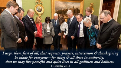 How You Can Pray for President Trump