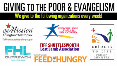 Giving to the Poor & Evangelism