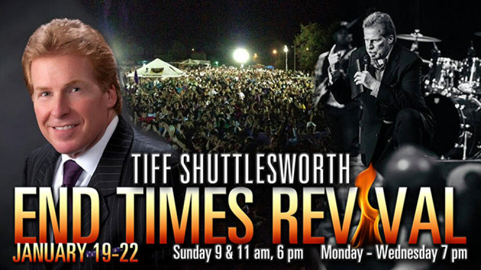 End Times Revival with Evangelist Tiff Shuttlesworth