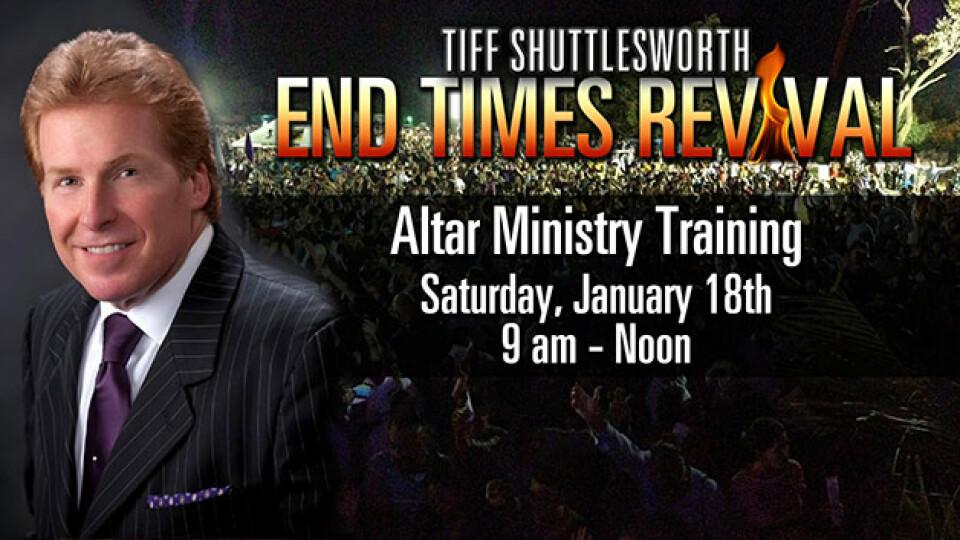 Altar Ministry Training