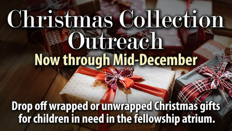 Christmas Collection Outreach